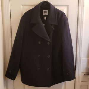 Gap Peacoat Black Size Large NWT